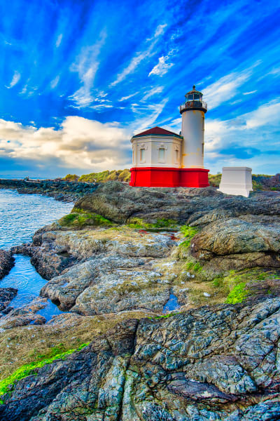 Coquille River Light Oregon