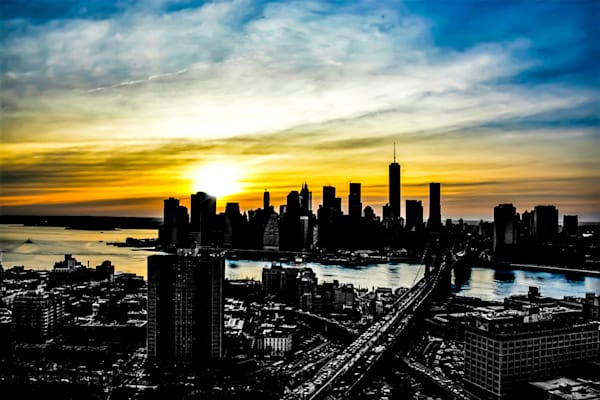NY Downtown Skyline III