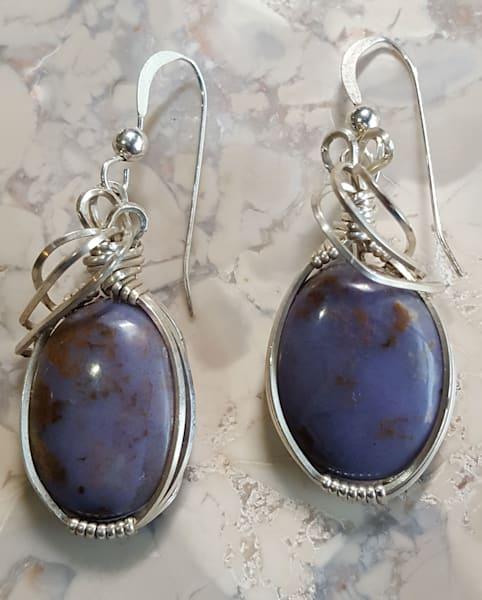 Burro Creek Earrings by Jewelry Artist Sherryl Brunner | Prophetics Gallery
