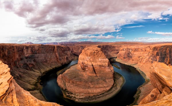 A fine art photograph of Horseshoe Bend in Page Arizona