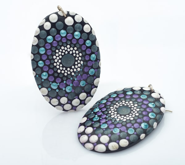 Oval Earrings (A)
