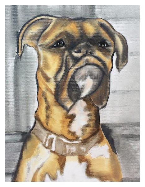 Charlee Boxer For Digital Print On 8.5x11 Coated Cover Stock Art | Marie Stephens Art