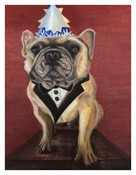 Gerry Frenchie For Digital Print 8.5 X 11 On 120 Pound Coated Cover Stock Art | Marie Stephens Art