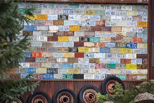 8469 License Plates  Art | Cunningham Gallery
