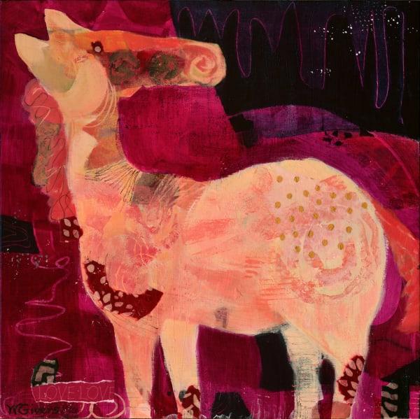 whimsical horse print