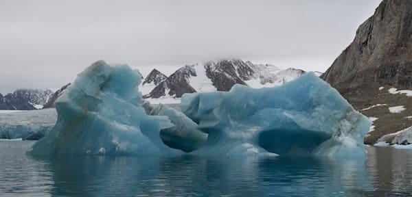 Iceberg 1 Panorama 1 Photography Art | RaberEYES