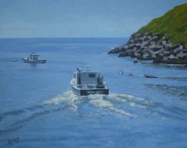 Sea Hag   Original Oil  Art | Sharon Guy