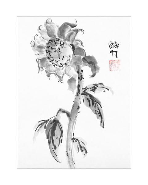 Flower Two Art | HombretheArtist
