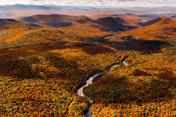 Buttermilk Falls Fall Photography Art | Kurt Gardner Photogarphy