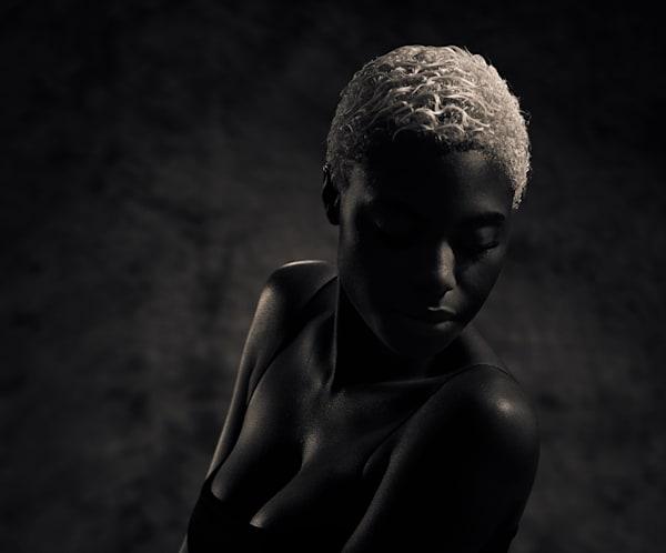 "Niara Beautiful   16"" X 19.5"" Limited Edition Of 20, Signed & Numbered Photography Art | Dan Katz, Inc."