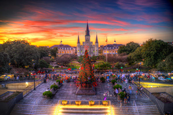 Nola Christmas Photography Art | Zakem Art LLC