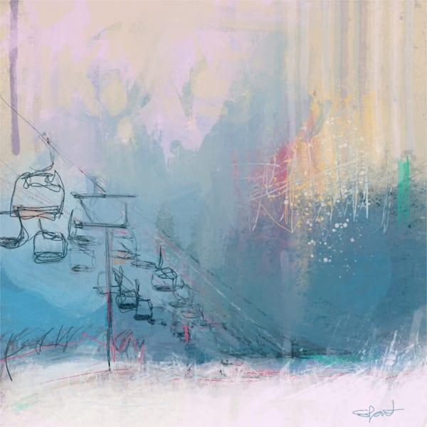 Winter Playground Art | Atelier Steph Fonteyn