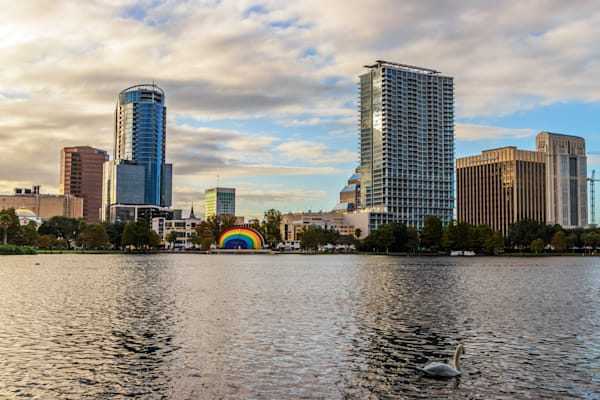 Orlando and the Swan - Orlando Art for Sale | William Drew Photography