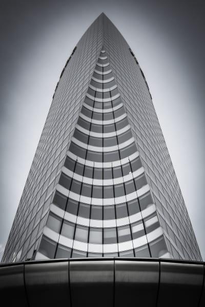 Art photography - modern Parisian architecture