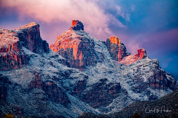 Catalinas Snow 065   Deluxe Photography Art | Carol Brooks Parker Fine. Art Photography