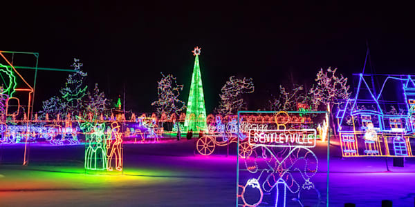 Bentleyville Christmas Lights - Duluth Pictures | William Drew Photography