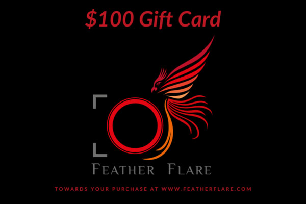$100 Feather Flare Gift Card  | Feather Flare Photography