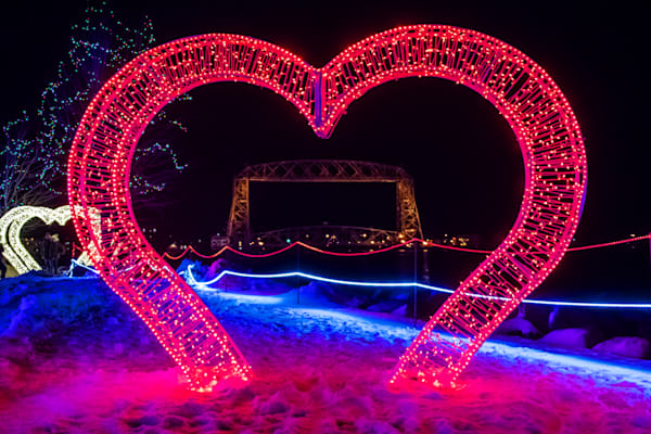 Duluth Love at Bentleyville - Duluth Christmas Art | William Drew Photography