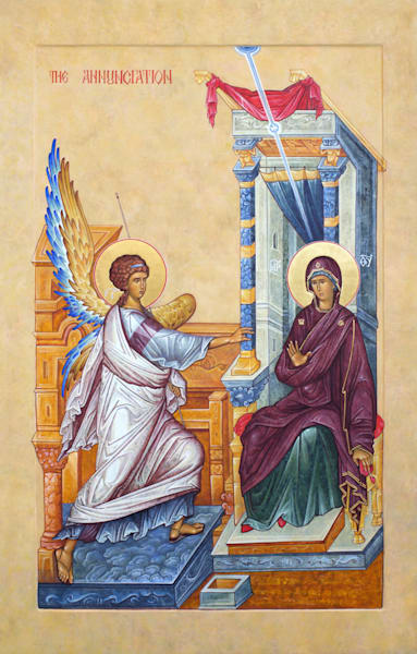 The Annunciation Art | rpacmembers