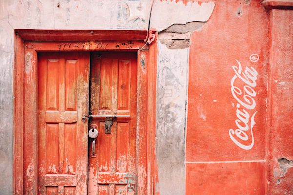 Coca Cola Neighbor Photography Art by kirbytrapolino