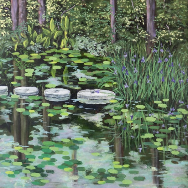 Spring Millpond Art | Chris Doyle Fine Arts