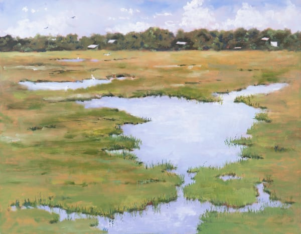 Marsh Pond Art | Chris Doyle Fine Arts