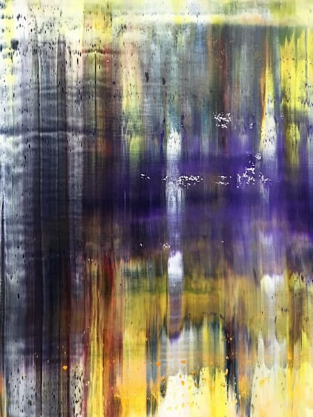 Purple Rain Fragment Print Art | PMS Artwork