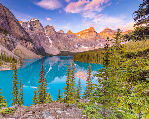 Morraine Lake Photography Art | brucedanz