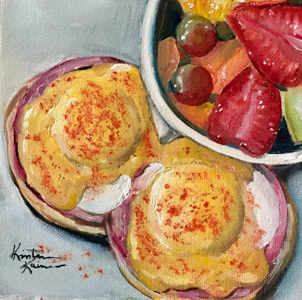 Eggs Benedict by Kristine Kainer