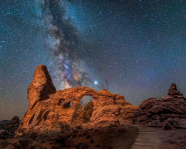 Turret Arch Milky Way