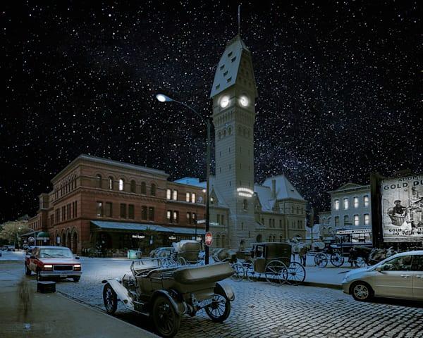 Dearborn Street Station, Nighttime