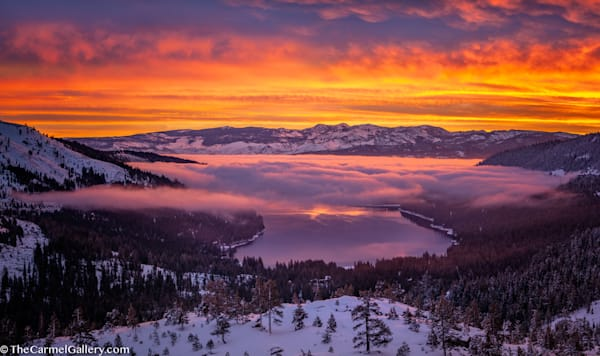 Donner Lake Sunrise photo