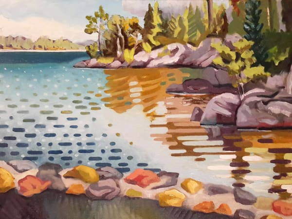 Early Late-Modernist Landscape by Mark Granlund