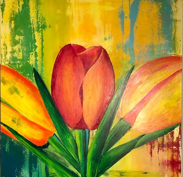 Spring Tulips | benbonart