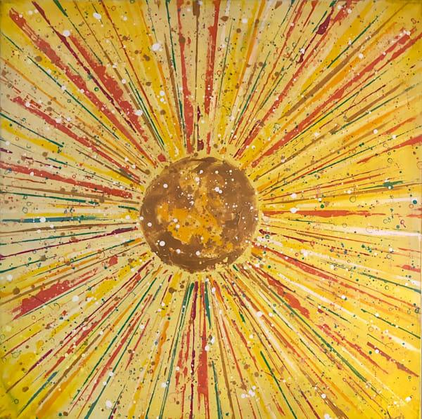 Sunburst Art | benbonart