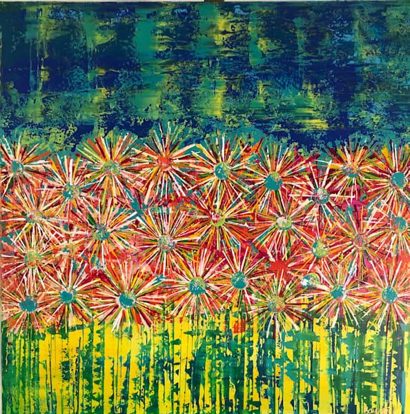 Pixie Flowers Art | benbonart