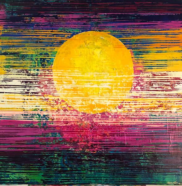 Sunset Art | benbonart
