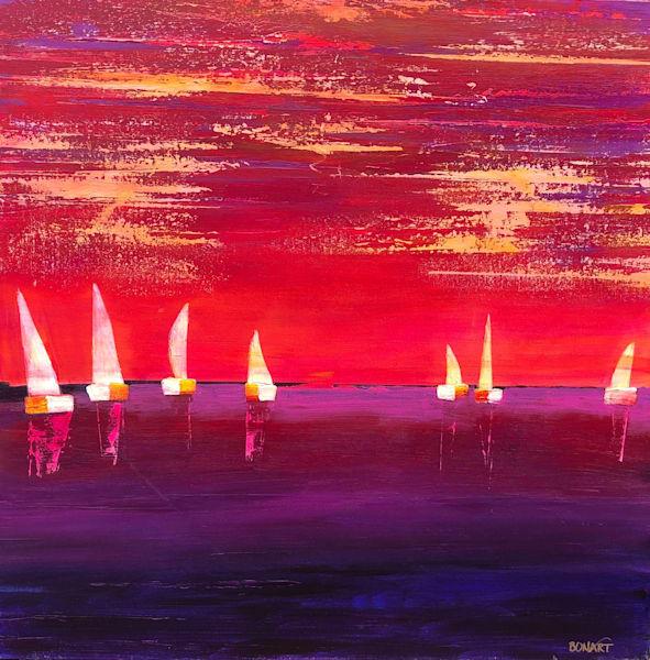 Silent Sailing Art | benbonart