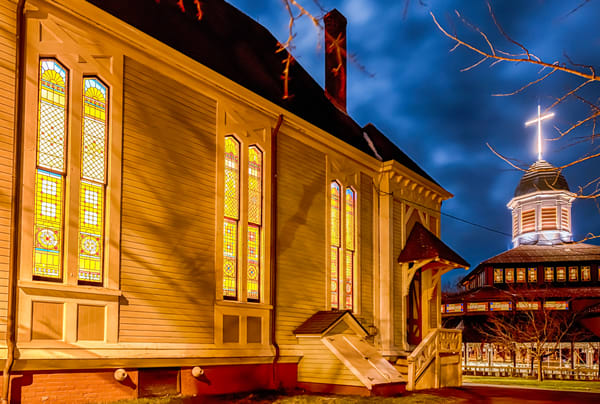Trinity Church Christmas Art | Michael Blanchard Inspirational Photography - Crossroads Gallery