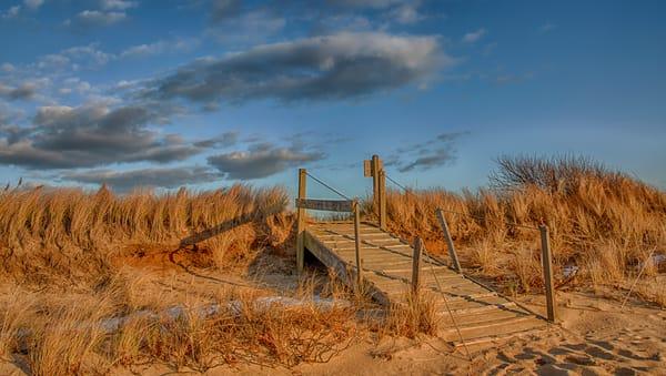 Long Point December Golden Sunset Art | Michael Blanchard Inspirational Photography - Crossroads Gallery