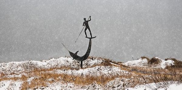 Menemsha Swordfisherman Snow