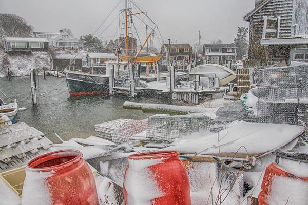 Menemsha Snowy Barrels
