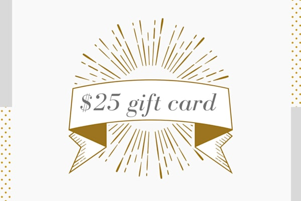 $25 Gift Card for Parima Studio - Give the gift of color