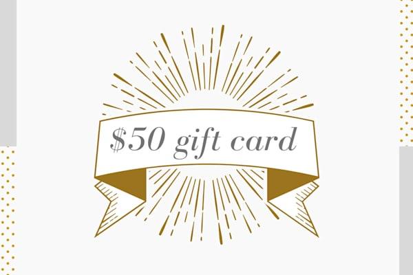 $50 Gift Card to Parima Studio
