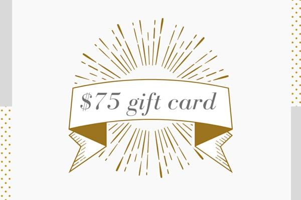 $75 Gift Card to Parima Studio