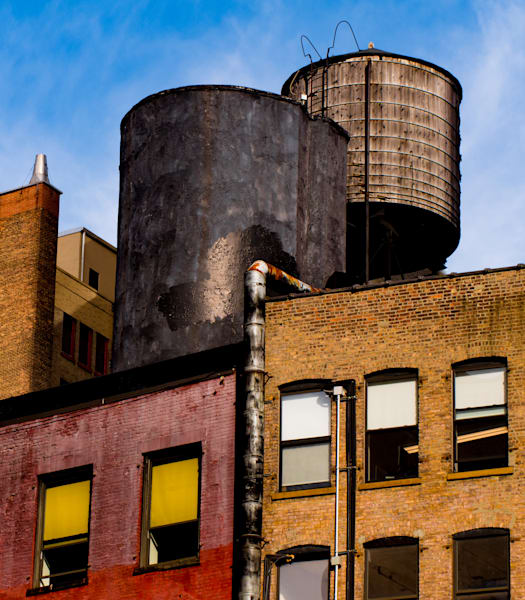 Two Chelsea Water Towers, NYC