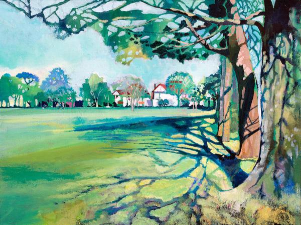 Park Howard Llanelli Art Print