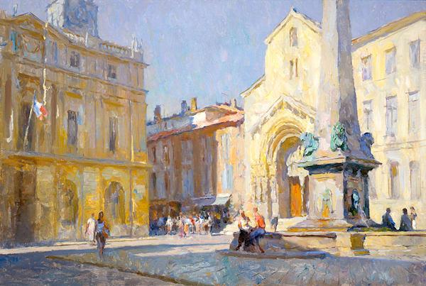 The Square Arles Art | Fine Art New Mexico