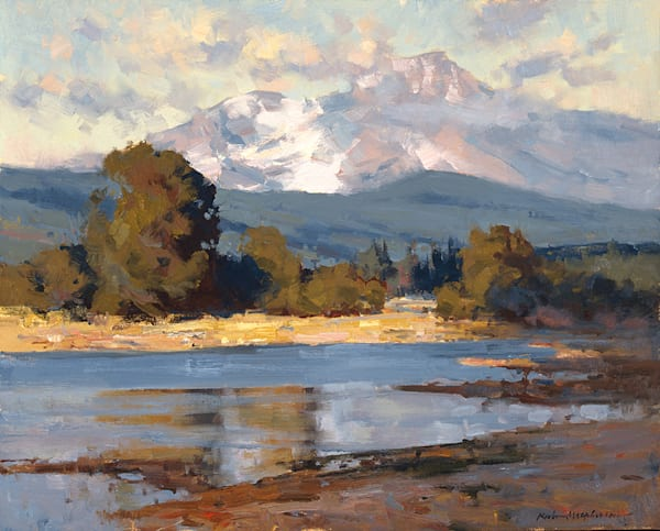 Tumalo Reservoir Art by fineart-new mexico