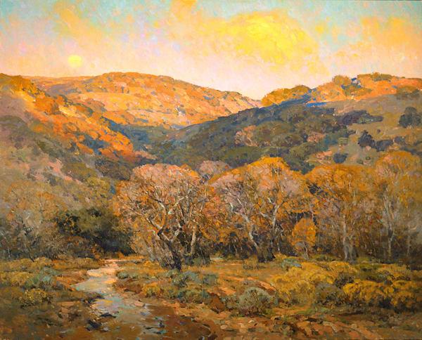 Valley Dusk Art | Fine Art New Mexico